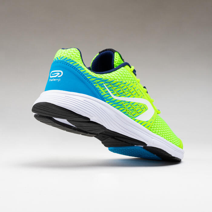 Laufschuhe Leichtathletik AT 300 Breath Kinder gelb/blau