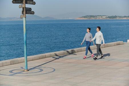 Men's Fitness Walking Shoes PW 540 Comfort - Khaki