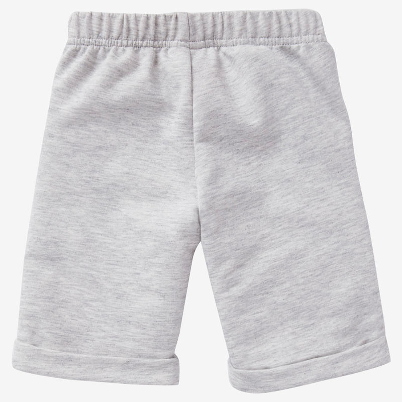 Short Baby Gym 500 Gris