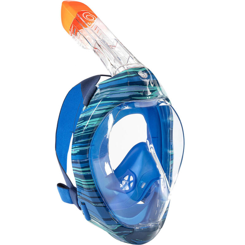 Maschera snorkeling EASYBREATH 500 SWELL