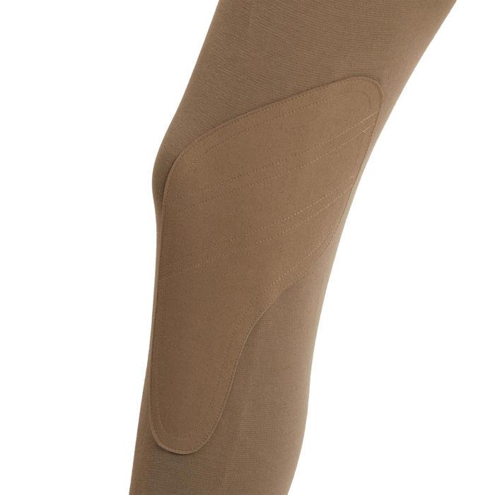 Pantalon équitation enfant 140 marron