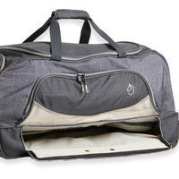 Horse Riding Trolley Bag 80 Litres - Grey/Beige
