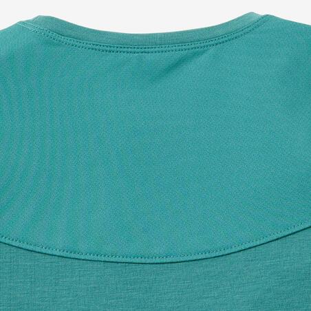 T-Shirt Senam Bayi Perempuan dan Laki-laki 500 - Turquoise
