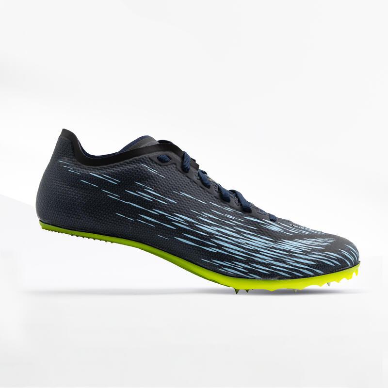 Încălțăminte Cuie Atletism AT Sprint Albastru-Galben