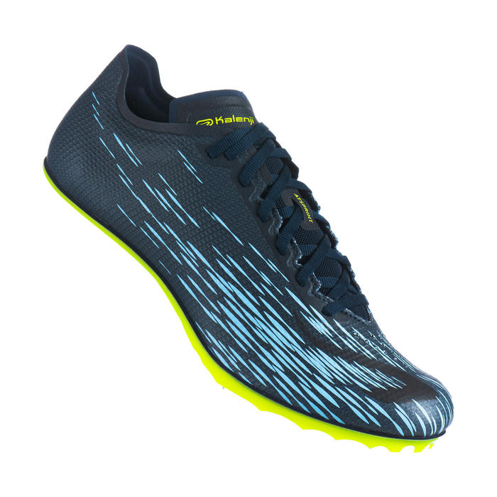 AT SPRINT ATHLETICS SPIKES - BLUE/YELLOW