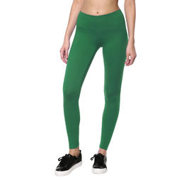 Women's Gym Leggings Slim Fit Salto 100 - Olive Green