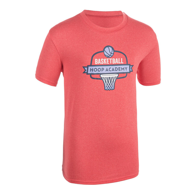 Girls'/Boys' Basketball T-Shirt / Jersey TS500 - Pink
