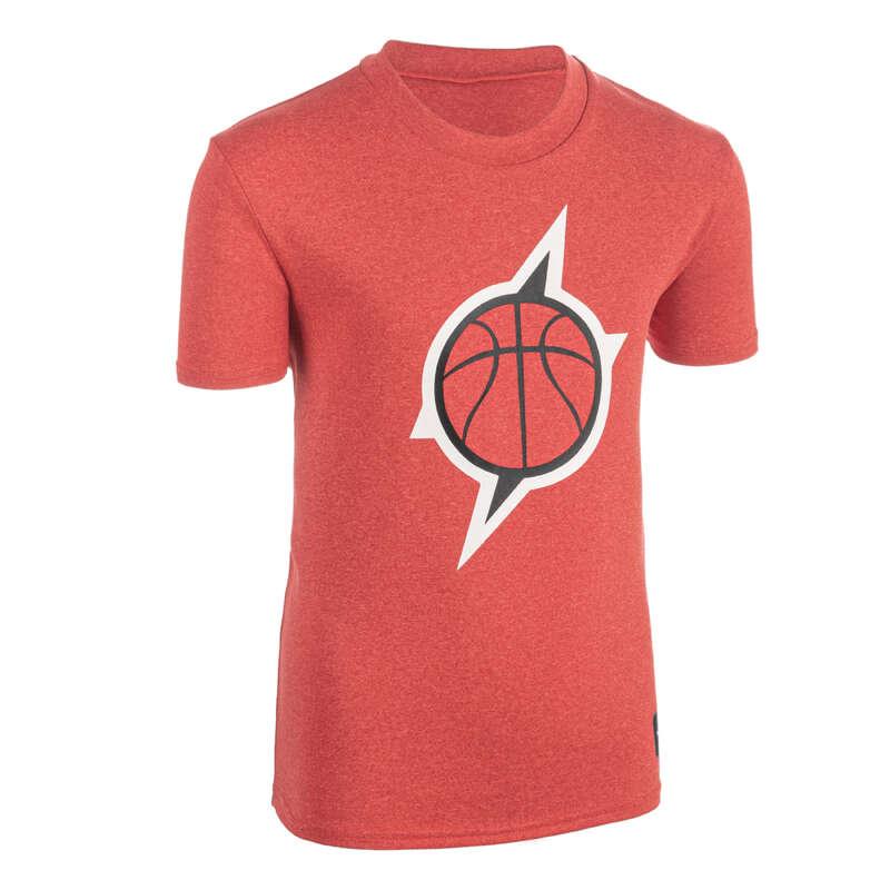 KIDS BASKETBALL OUTFIT Basketball - Kids' TS500 Red Lightning Ball TARMAK - Basketball Clothes
