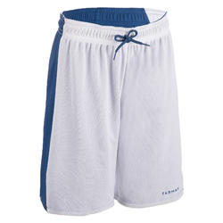 Women's Reversible Basketball Shorts SH500R - Blue/White