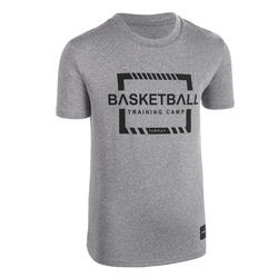 Boys'/Girls' Intermediate Basketball T-Shirt TS500 - Grey