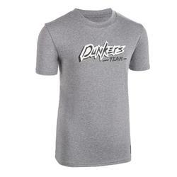 Boys'/Girls' Intermediate Basketball T-Shirt TS500 - Grey