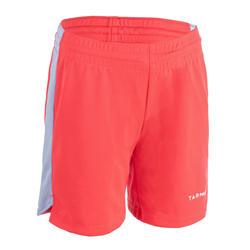 Basketbalshort voor gevorderde jongens/meisjes roze/blauw SH500