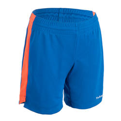 Boys'/Girls' Intermediate Basketball Shorts SH500 - Blue/Red