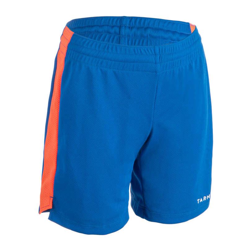 KIDS BASKETBALL OUTFIT Basketball - JR Shorts SH500 - Blue/Pink TARMAK - Basketball