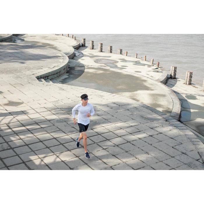 男款跑步T恤SUN PROTECT - 白色