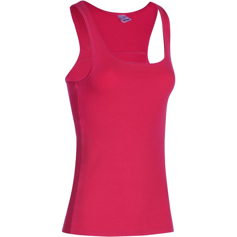 500 Women's Gym & Pilates Tank Top - Pink