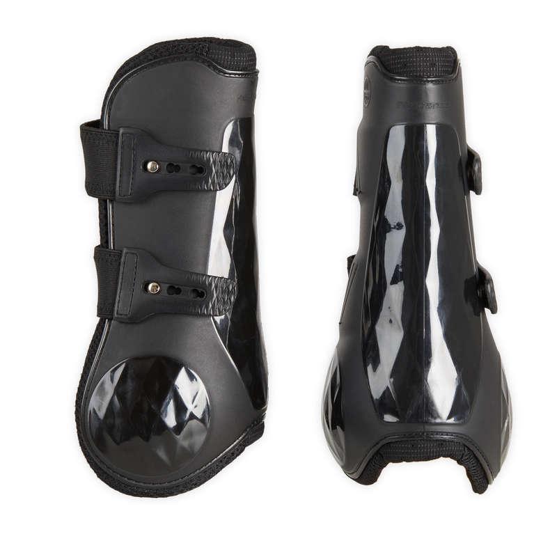 Защита ног лошади Верховая езда - Ногавки открытые 580 FOUGANZA - Семьи и категории