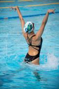 SYNCHRONIZOVANÉ PLAVÁNÍ Plavání - 1DÍLNÉ PLAVKY SYNCHRO ČERNÉ NABAIJI - Plavání