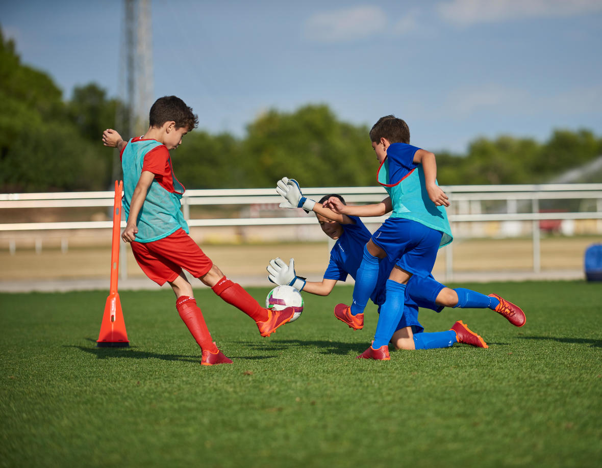 Your child wants to be a goalkeeper. What can you do to help them?