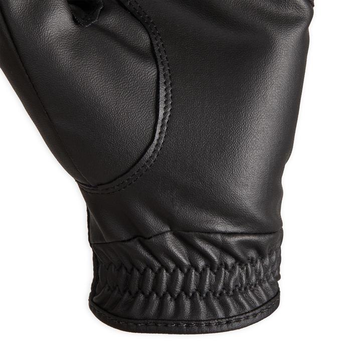 Gants équitation femme 560 noir