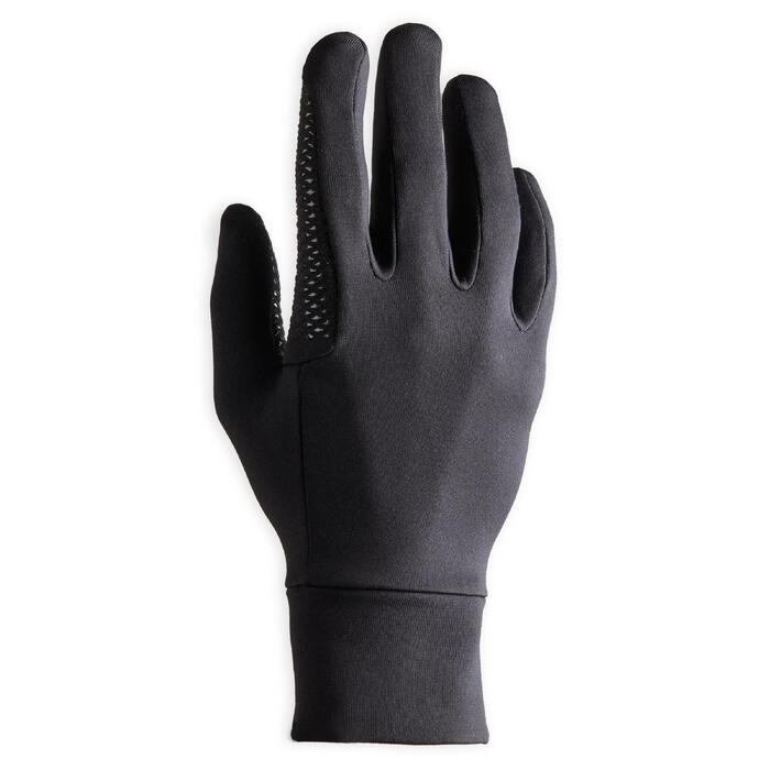Rijhandschoenen voor heren 100 zwart