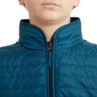 אפוד רכיבה ללא שרוולים לילדים Gilet 100 - כחול פטרול