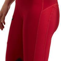 Pantalon équitation femme 100 LIGHT framboise