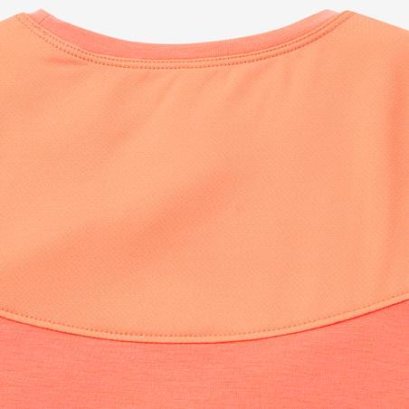 T-Shirt Senam Bayi Perempuan dan Laki-laki 500 - Jingga