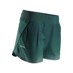 Women's Tennis Shorts SH Dry 500 - Green