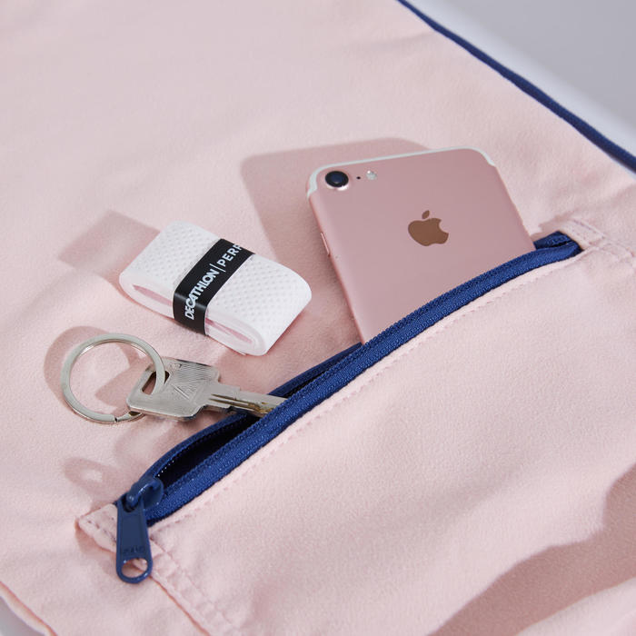 羽球球拍袋BL 500-粉藍配色