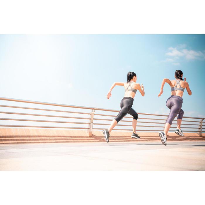 COMFORT RUNNING BRA - KHAKI