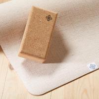 Eco-Designed Cork Yoga Brick