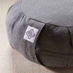 Yoga & Meditation Zafu Cushion - Mottled Grey