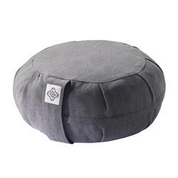 瑜珈與冥想蒲團枕 - 灰色