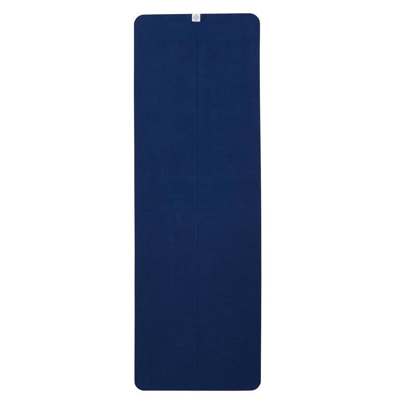 Non-Slip Yoga Towel - Grey/Blue
