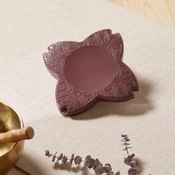 Yoga pad / kussen voor knieën en polsen bordeaux
