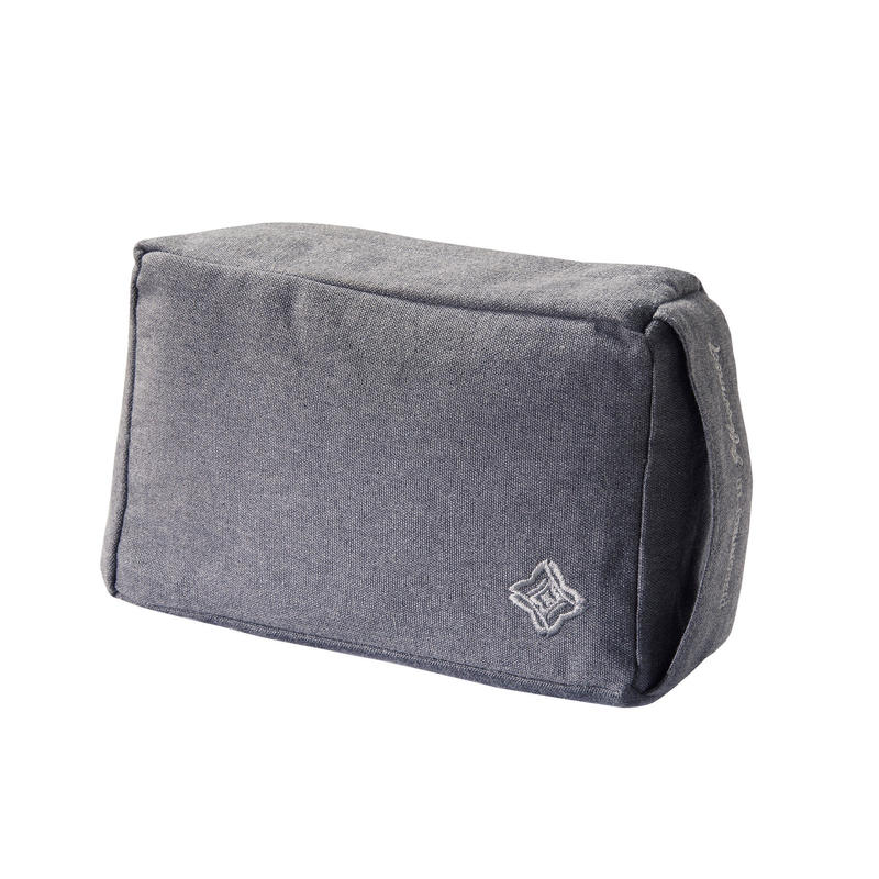 Soft Fabric Yoga Brick Grey Domyos By Decathlon