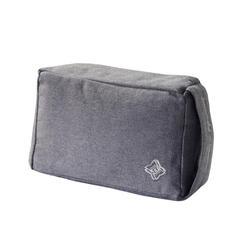 Yogablok in zacht textiel grijs