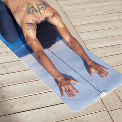 Non-Slip Yoga Towel - Mountain Print