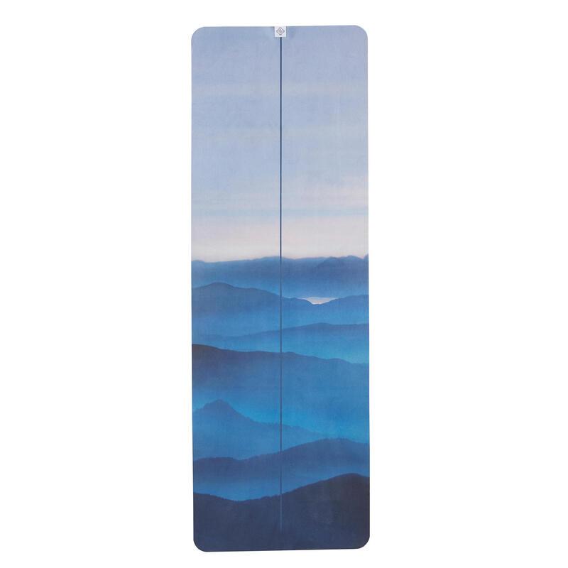 Telo yoga antiscivolo stampa montagne 183x61cm