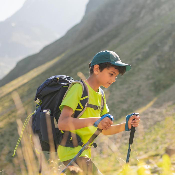 T-Shirt de randonnée - MH500 vert - enfant
