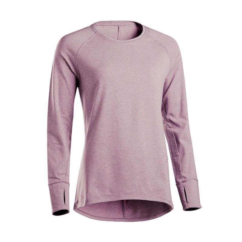Îmbrăcăminte yoga damă Yoga - Bluză Yoga Ușoară Damă DOMYOS - Yoga