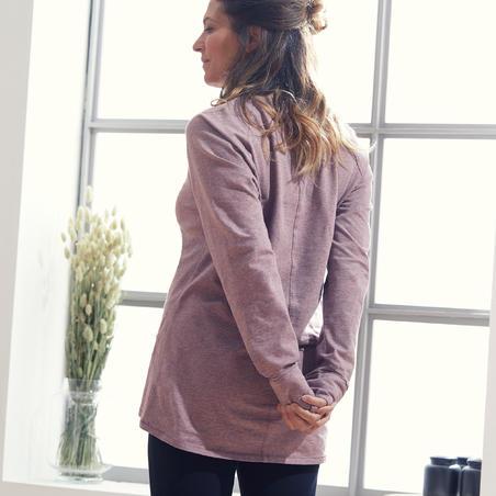 Chandail de yoga doux en coton biologique – Femmes