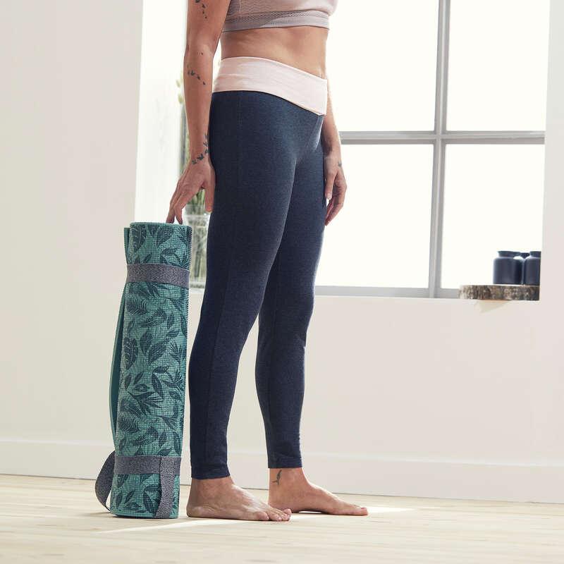 WOMAN YOGA APPAREL Fitness and Gym - Women's Gentle Yoga Leggings DOMYOS - Gym Activewear