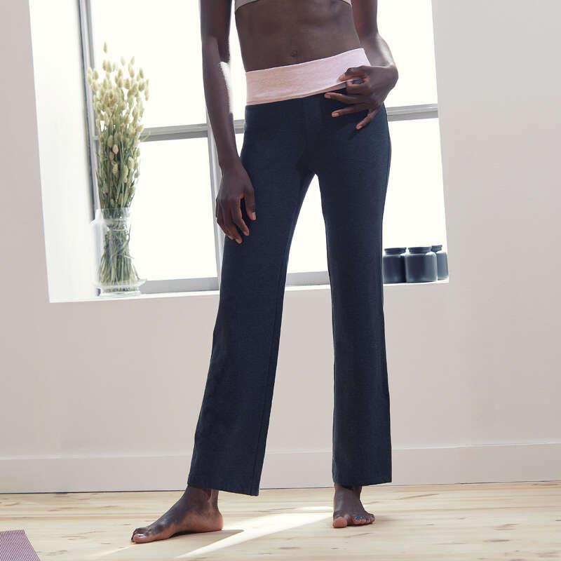 WOMAN YOGA APPAREL Clothing - Women's Gentle Yoga Bottoms DOMYOS - Bottoms