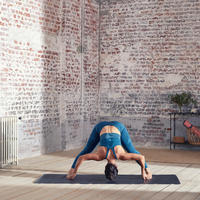 Soutien-gorge long sans couture de yoga dynamique