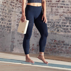 LEGGING 7/8 YOGA SANS COUTURES NOIR / ANTHRACITE