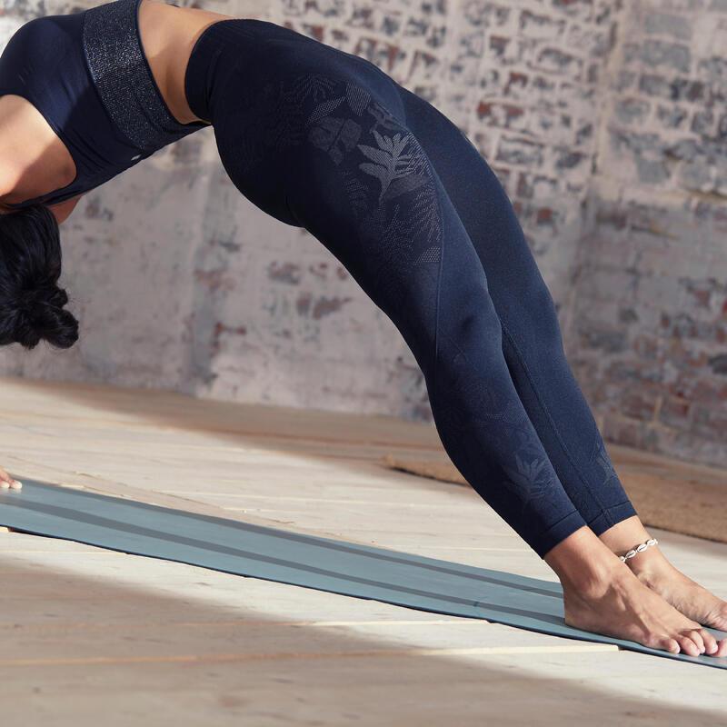 Mallas leggings Mujer seamless tobillero yoga negro