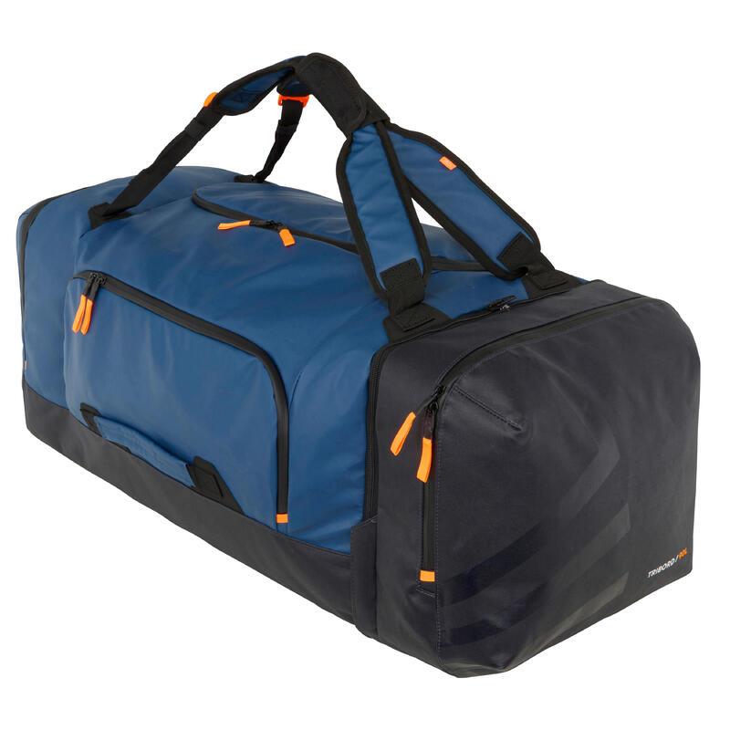 Bolsa De Viaje Impermeable Náutica 90 Litros Azul Marino