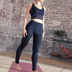 Malla Yoga mujer Leggins Domyos negro